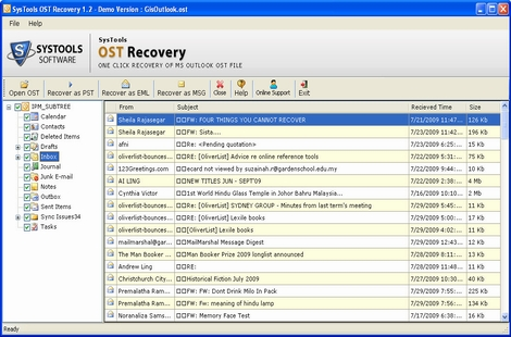Recover Exchange Mailbox From OST File